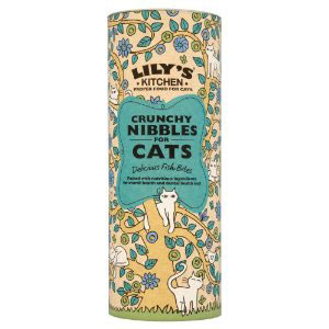Cheap Lily's Kitchen Crunchy Nibbles for Cats - Fish 400g