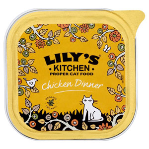 Cheap Lily's Kitchen Organic Chicken Dinner for Cats 16 x 100g