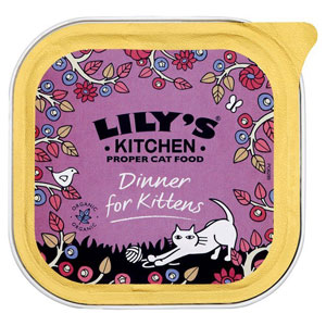 Cheap Lily's Kitchen Organic Dinner for Kittens 16 x 100g