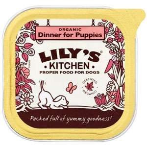 Cheap Lily's Kitchen Organic Dinner for Puppies 11 x 150g