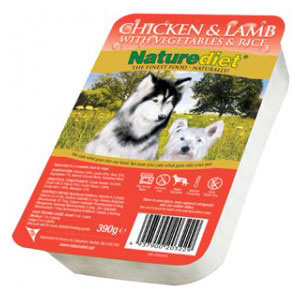 Cheap Naturediet Chicken & Lamb with Vegetables & Rice 18 x 390g