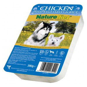Cheap Naturediet Chicken with Vegetables & Rice 18 x 390g