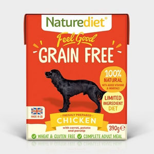 Cheap Naturediet Feel Good Grain Free Chicken with Vegetables 18 x 390g