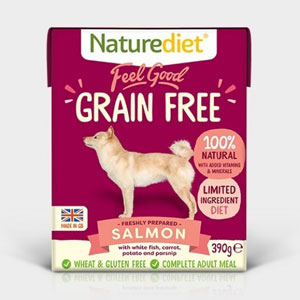 Cheap Naturediet Feel Good Grain Free Salmon with Vegetables 18 x 390g