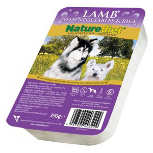 Cheap Naturediet Lamb with Vegetables & Rice 18 x 390g