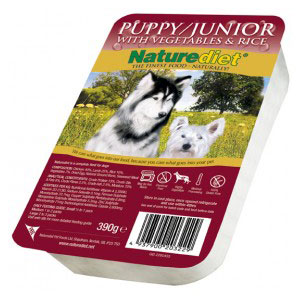 Cheap Naturediet Puppy/Junior with Vegetables & Rice 18 x 390g