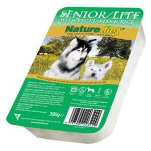 Cheap Naturediet Senior/Lite with Vegetables & Rice 18 x 390g