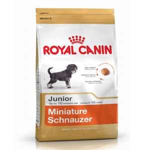 Cheap Royal Canin Miniature Schnauzer Junior 1.5kg