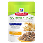 Hill's Science Plan Feline Adult 7+ Youthful Vitality Chicken 12x85g