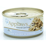 Applaws Tuna Fillet with Cheese Tin 24 x 70g