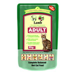 James Wellbeloved Adult Cat Pouch Lamb 12 x 85g