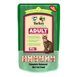 James Wellbeloved Adult Cat Pouch Turkey 12 x 85g