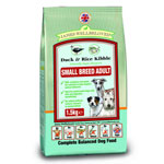 James Wellbeloved Adult Small Breed Dog Duck & Rice 7.5kg