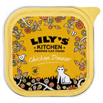 Lily's Kitchen Organic Chicken Dinner for Cats 16 x 100g