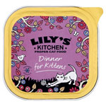 Lily's Kitchen Organic Dinner for Kittens 16 x 100g
