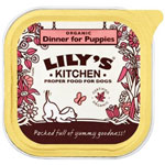 Lily's Kitchen Organic Dinner for Puppies 11 x 150g
