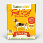 Naturediet Feel Good Chicken with Rice & Carrots 18 x 390g